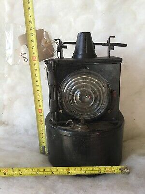 Very Rare Restored 1940 LMS Vintage Railway Signal Lamp • 12.55£