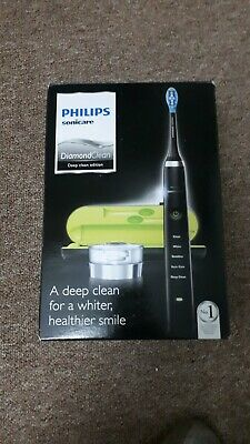 View Details Philips HX9351/52 Sonicare DiamondClean Sonic Electric Toothbrush - Black • 90.00£