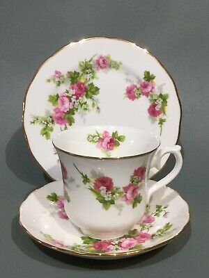 Royal Osborne Bone China Tea Cup, Saucer & Plate Trio • 5.95£