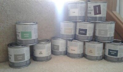 Annie Sloan Paint 4 X 120ml Tins Of Each -colours: Greys, Wine, Blues & Whites • 40.99£