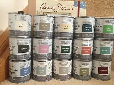 Annie Sloan- Chalk Paint X 6 Tins - Each 120ml - Perfect Sizes For Most Projects • 62.30£
