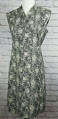 $ CDN161.09 • Buy MM Lafleur Womens Size 12 Black White Aditi Crackle Dress NWOT Retail:$240