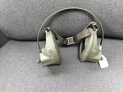 VINTAGE MILITARY ELECTRONIC EAR DEFENDERS NATO No 5835-99-632-9763 • 35£