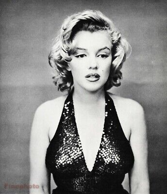 $238.14 • Buy 1957 Vintage MARILYN MONROE Movie Actress By RICHARD AVEDON Film Model Photo Art