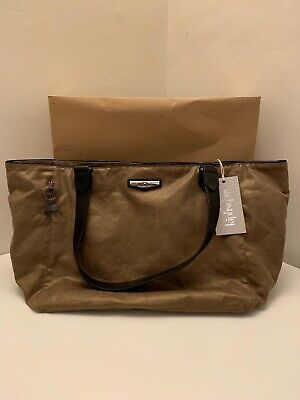 BNWT Kipling City LM Lots Of Bag New Work Tote Laptop Burnt Copper - RRP £134 • 89.99£