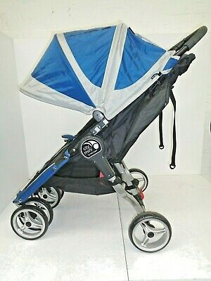 Baby Jogger City Mini Double Cobalt/Grey Double Stroller RRP £449.99 • 260£