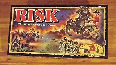 $8 • Buy Risk Board Game World Conquest 1993 Parker Brothers Unused NEW In Open Box!