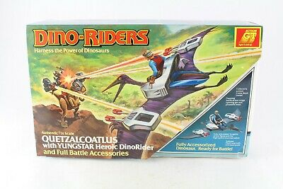 Dino Riders Quetzalcoatlus WIth Yungstar Sealed TYCO 1987 Series 1 New MISB • 299.99£