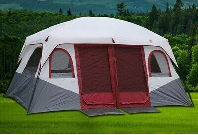 AU299.99 • Buy Large Family Camping Tents Waterproof Cabin Outdoor Tent For 8 10 12 Person