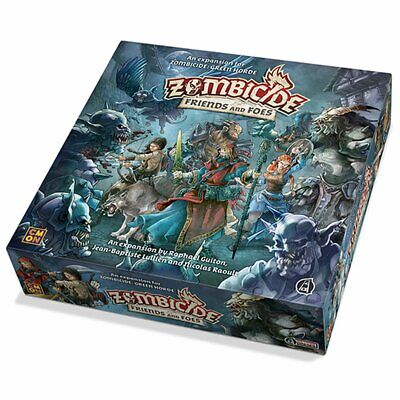 AU76.81 • Buy Zombicide Green Horde Friends And Foes Board Game