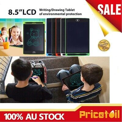 AU11.95 • Buy AU 8.5in LCD Writing Pad E-Writer Graphic Drawing Board Tablet Melbourne Stock