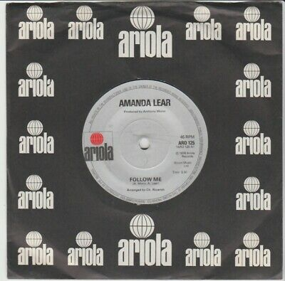 Amanda Lear  Follow Me/Mother Look What They've...  Ariola 1978 7  Archive Copy • 3£