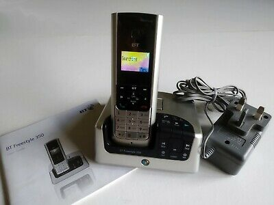 BT Freestyle 350 Digital Cordless Telephone Answering Machine • 25£
