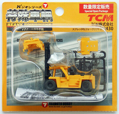 Top Loading Container Lift Yellow - Fujimoto 1/150 N Scale • 4.29£