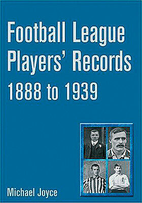 Football League Players' Records 1888 To 1939 - Statistical Who's Who Book • 30£