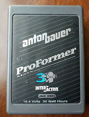 £21.29 • Buy Anton Bauer ProFormer Pro Former 3 Maxx 14.4V 30W Video Camera Battery