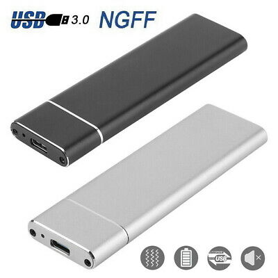 AU19 • Buy M.2 NGFF SSD SATA TO USB 3.1 Type-C External Enclosure Storage Case Adapter AU