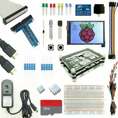 AU68.65 • Buy Raspberry Pi 3 B+ (B Plus) 3.5 Inch Touch Screen Optional Kit + 5V 2.5A P NTP