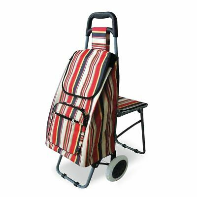 £44.99 • Buy Lifemax 'Take A Seat' Shopping And Leisure Trolley