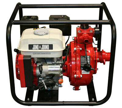 AU415 • Buy 7HP Electric Start Twin Impeller Water Fire Fighting Pump OHV Petrol Engine