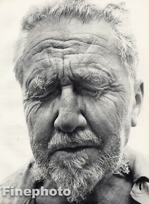 $189.21 • Buy 1958 Ezra Pound Author By RICHARD AVEDON Poet Critic Modernist Vintage Photo Art