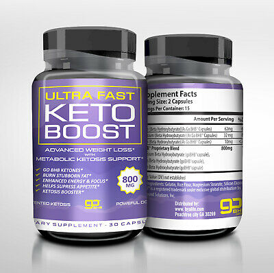 $11.59 • Buy Ultra Fast Keto Boost Energy & Focus Diet Capsules Ketosis Support Usa