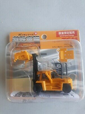 Top Loading Container Lift Yellow - Fujimoto 1/150 N Scale • 13£