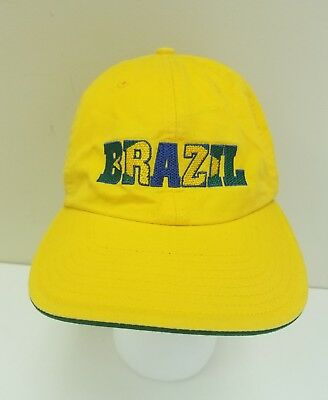 Adidas Brazil FIFA World Cup 2006 Germany Adjustable Hat Cap Yellow • 11.46£