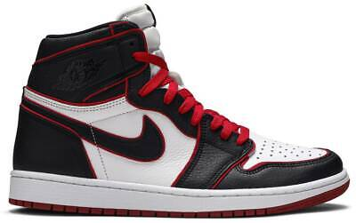 $160 • Buy Nike Air Jordan 1 Retro High OG 'Bloodline' 555088-062 Authentic Mens Black Red