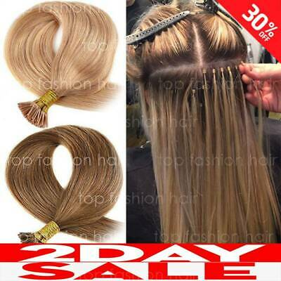 $24.24 • Buy Pre-Bonded I Tip Stick Keratin Human 100% Remy Hair Extensions 300S Thick P722
