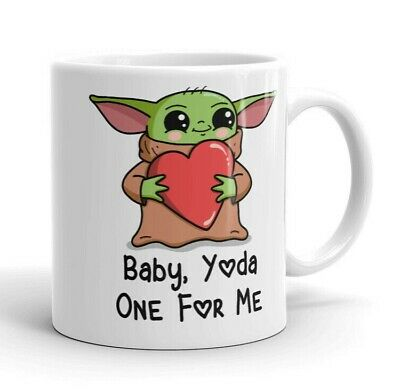 $15.99 • Buy Baby Yoda Mug Gift | Baby, Yoda One For Me | Cute The Child | Coffee Cup- Mug