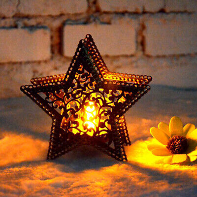 $3.18 • Buy Metal Moroccan Lantern Candlestick Candle Holder Tea Light Wedding Decor New