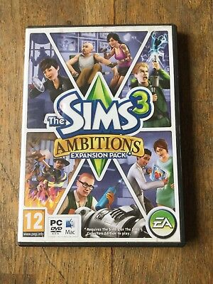 The Sims 3 - Ambitions Expansion Pack - PC/ MAC • 4.99£
