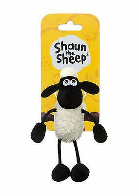 Shaun The Sheep Plush 61176 Backpack Clip Black And White • 8.49£