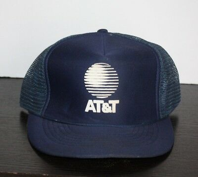 AU16.76 • Buy Vintage AT&T ATT Wireless Services Trucker Hat 80s Mesh Snapback Cell Phone