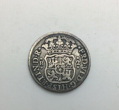 $ CDN143.67 • Buy Mexico 1749  Mo M 2 Reales Silver Colonial   KM#86.1 Decent Coin Scarce