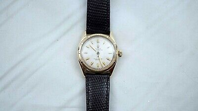 $ CDN4499 • Buy 1950's 14k Solid Gold Rolex Oyster Perpetual Ref 6085 Rolex Band & Buckle  B589