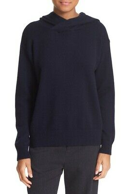 $169.99 • Buy NEW Vince Cashmere & Wool Hoodie In Navy - Size S #S3091