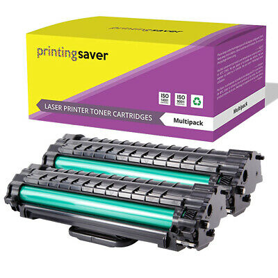 2 Toner Cartridge For Samsung Printer Ml1610 Ml1610p Ml1615 Ml1650 Scx4521f • 10.89£