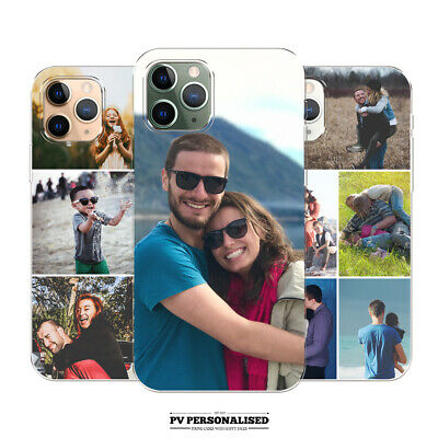 £5.99 • Buy Personalised Custom Photo Collage Silicone Gel Phone Case For Iphone 13 8 Xr 11