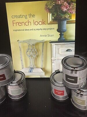 Annie Sloan Paint -2 X 120ml Tins-Pick Your Colours-Annie Sloan Book-French Look • 34£