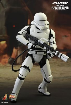 AU269.99 • Buy STAR WARS - First Order Flametrooper 1/6th Scale Action Figure MMS326 (Hot Toys)
