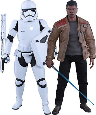 AU399.99 • Buy STAR WARS - Finn & Riot Stormtrooper 1/6th Scale Action Figure MMS346 (Hot Toys)