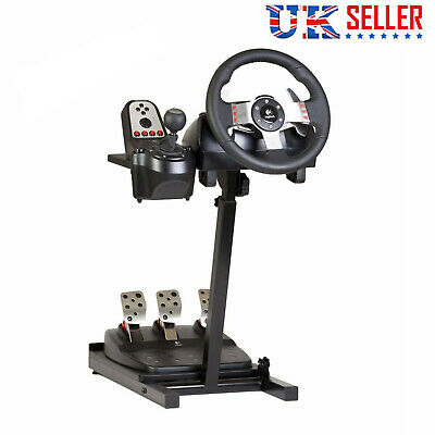 Racing Simulator Steering Wheel Stand For Logitech G29 G920 G25 G27 T300RS XBOX • 38.99£