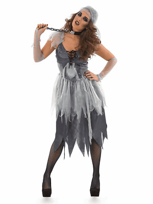 £14 • Buy Adult Womens Ladies Zombie Pirate Wench Costume - Large - Halloween Fancy Dress