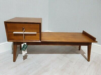 BNIB John Lewis West Elm Mid-Century Storage Bench  ~ FREE DELIVERY INCLUDED ~ • 299£