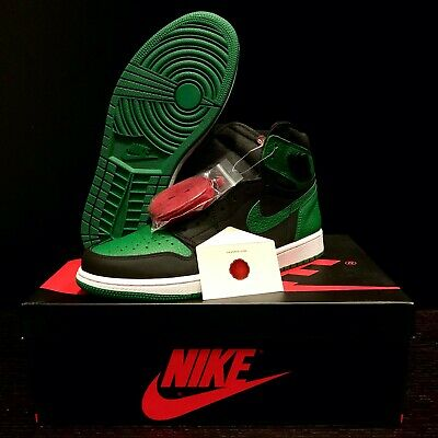 $219.99 • Buy Air Jordan 1 Retro High Og  Pine Green Black  2020 Release 555088-030