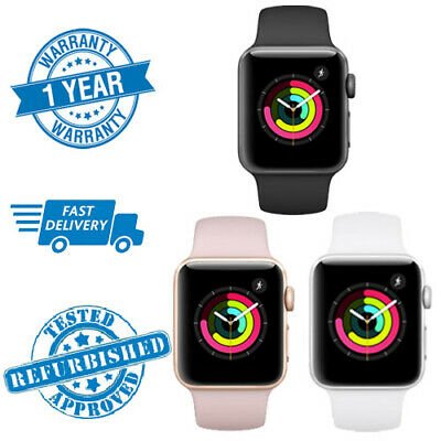 $ CDN414.52 • Buy Apple Watch Series 3 - 38/42mm - GPS/Cellular  Space Grey / Silver / Gold / Nike