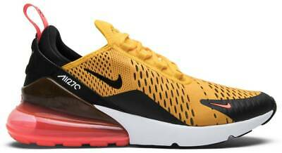 $155 • Buy Nike Air Max 270 'Tiger' AH8050-004 University Gold Hot Punch Authentic Mens New