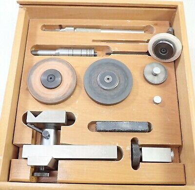 $ CDN71.79 • Buy Vintage Levin 8mm Watchmaker Lathe Attachment Grinding Milling Set With Case